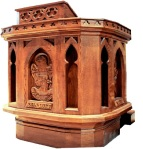 Grandfathers pulpit